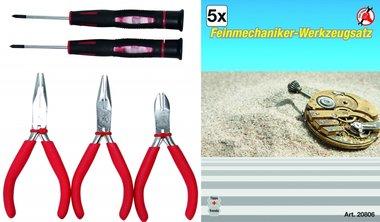 5-delige Precision Mechanics Tool Set