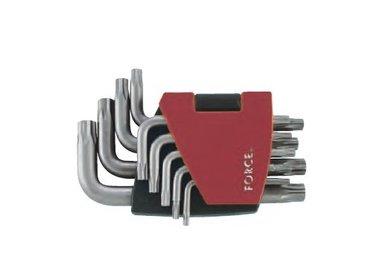 Haakse 5-kant Resistorx TS sleutelset 9 delig