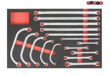 Foam Sleutel combinatieset 16 delig