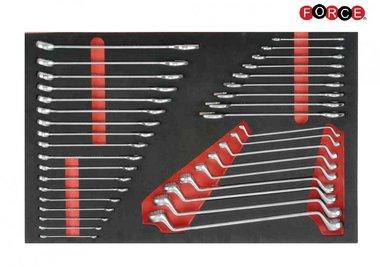 Foam Sleutel combinatieset 36 delig