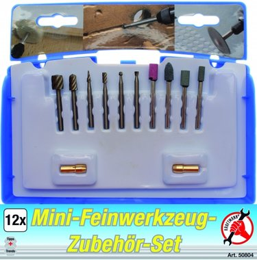 12-delige High Precision Drill Set