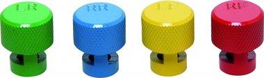 Kleurgecodeerde ventieldopset voor RDKS -ventielen 4-delig