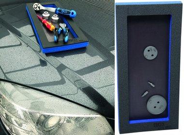 1/3  Workshop Trolley Dienblad met magnetische Ground