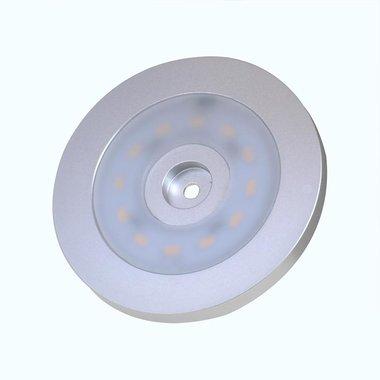 Opbouwspot 12-leds 12V 240lm diameter 55x5,0mm