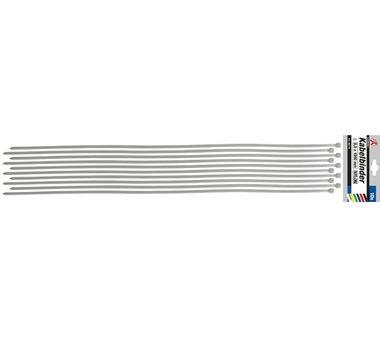 10-delige kabelbandset 8.0 x 1000 mm