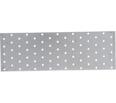Staalplaat met gaten 300 x 100 mm