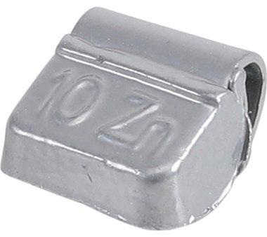 Wielgewicht velgen 10 g 100-delig
