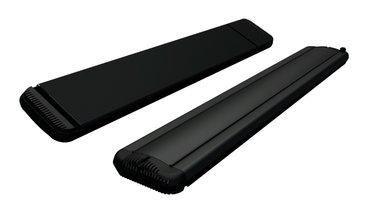 1800w hot-top infraroodstraler zwart 9818