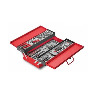 3-Tier tool chest with 76pcs tools