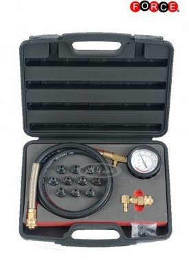 Oil pressure tester set 12-delig