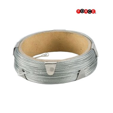Windscreen cutting wires - braided