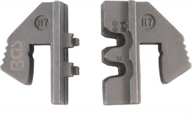 Crimping Jaws voor Waterproof Terminal Parts (H7) voor BGS 1410, 1411, 1412