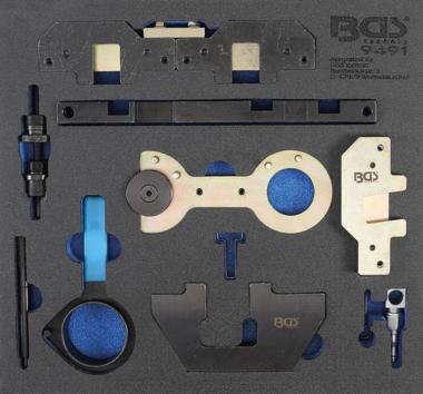 Gereedschapmodule 2/3: motorafstelset voor BMW M40, M44, M50, M52, M54, M56