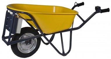 Electrische kruiwagen HDPE 90 Liter