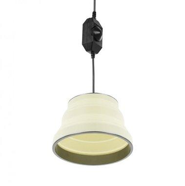 Hanglamp LED opvouwbaar silicone wit diameter 15cm