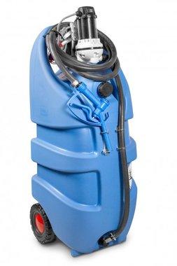Tank adblue blauw 110 liter, pomp 12v