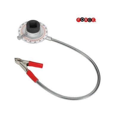 Gradenhoekmeter met clip 1/2