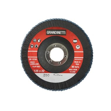 Lamellenschijf P60 - 125MM