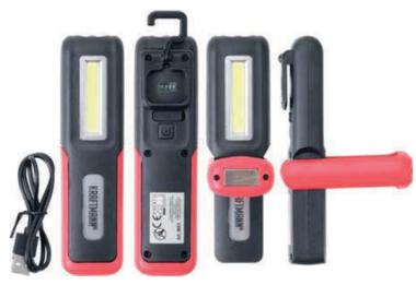 COB-LED 3W werklamp