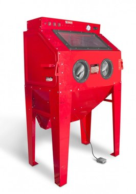 Zandstraalcabine 350 liter