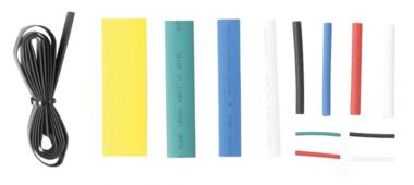 Assortiment krimpkous kleur 171-delige