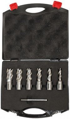 Set kernboren 6-delig 12 - 22mm