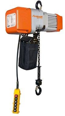 Elektrische kettingtakel 0,5 ton, 641x276x410mm