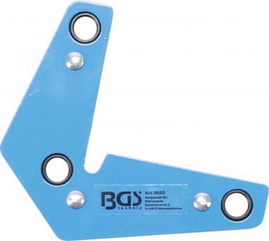 Magnetische lasklem L-vorm 9 kg
