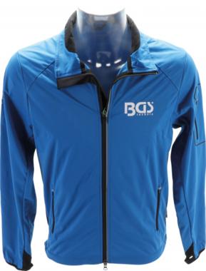 BGS® Softshelljack maat 4XL