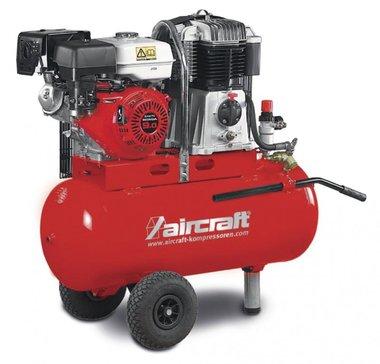 Mobiele benzine bouwcompressor 14 bar - 100 liter