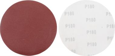 Schuurschijfset | voor langshalsschuurmachine | korrel 180 | aluminiumoxide | 10-dlg