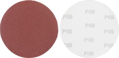 Schuurschijfset | voor langshalsschuurmachine | korrel 100 | aluminiumoxide | 10-dlg