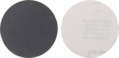 Schuurschijfset | korrel 240, fijn | siliciumcarbine | 10-dlg