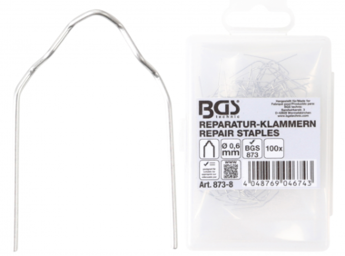 Reparatieklem V-model Diameter 0,6 mm 100-dlg