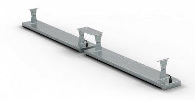 Plafondbeugel 396x1,5x120mm voor MO9818