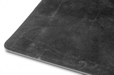 Vlakke rubber per lopende meter 1mx1400mmx3mm