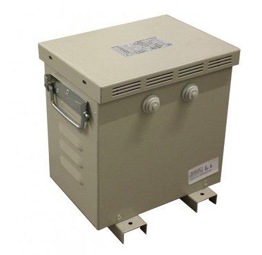 Transfo 3x220V naar 3x400V met omkasting