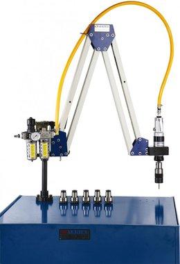 Pneumatische taparm M10 - M20 werkbereik 500 - 1600mm