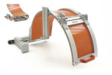 Klauwplaatafscherming grote diameters 1000mm